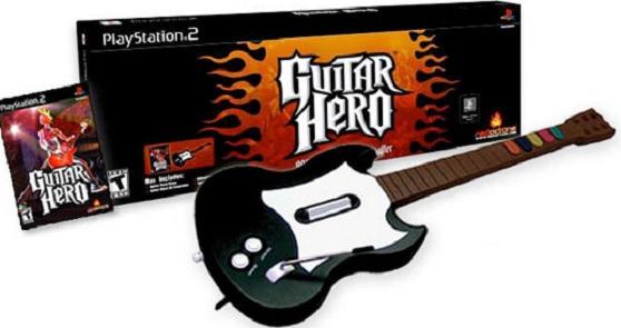 Original Guitar Hero on PS2