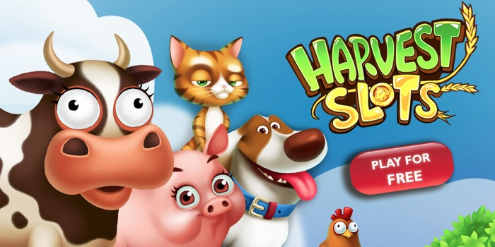 Harvest Slots combines slot machines and farming.