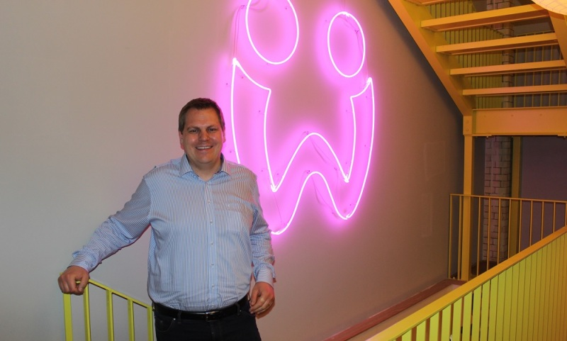 Jens Begemann, chief executive of Wooga, creator of Toby for the Apple Watch.