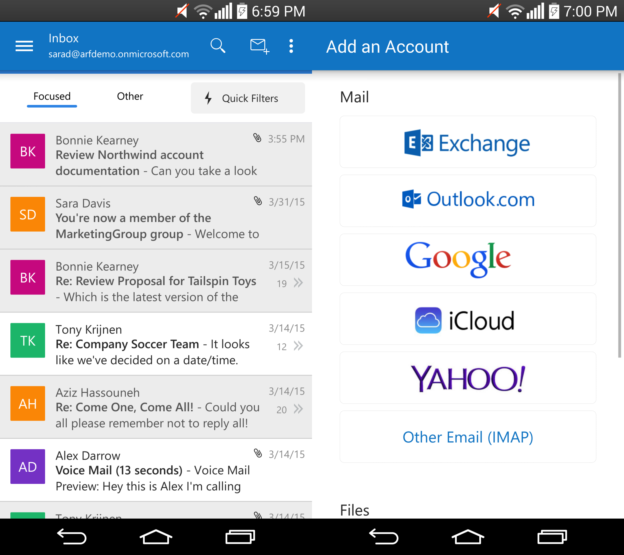 Microsoft launches Outlook for Android out of preview | VentureBeat ...