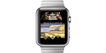 Runeblade puts fantasy role-playing on the back of your wrist