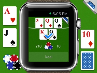 Commute-friendly gambling on your wrist.