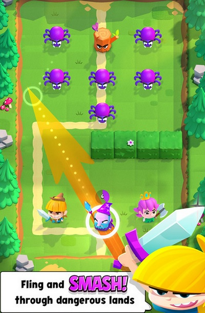 clash of clans maker supercell tests a new game smash land