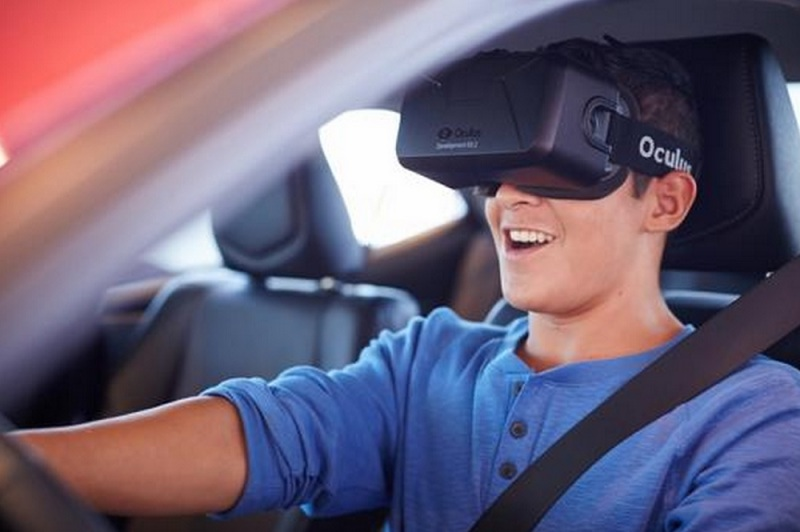 Teen Drive 365 warns teens about driver distractions using VR.