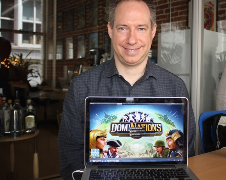 Tim Train of Big Huge Games shows DomiNations.