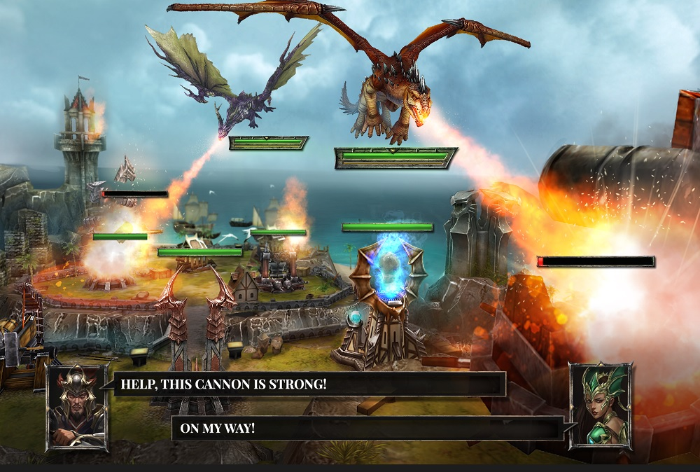 Awesome Dragon Game For IOS/Android