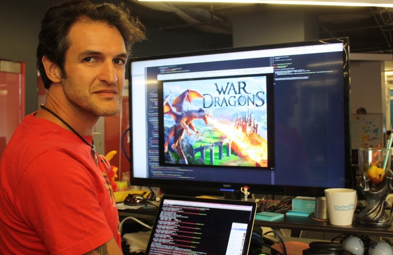 Gustavo Ambrozio, lead engineer for War Dragons.