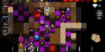 I think Crypt of the NecroDancer hates me, but I still love it