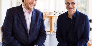 A Microsoft-Salesforce tie-up might be all about the growing purse of the CMO