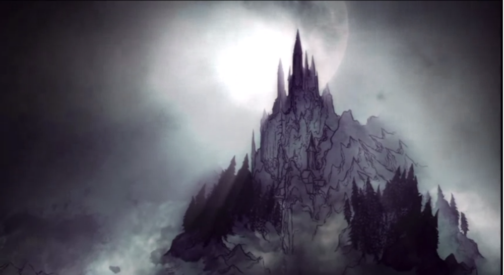 Dracula's home is ever changing and magical, maybe because it really is made of Lego.