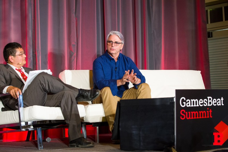 John Riccitiello suggested that Microsoft's broader entertainment focus was short-sighted compared to Sony's gamer-based approach.