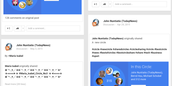 Google+ has quietly turned off its shared circles feature