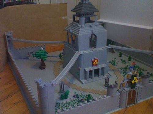 Or you could build this tiny Hyrule Castle for, like, $50.