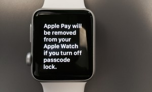 Apple Watch Passcode Lock