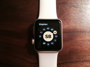 Apple Watch Social Wheel 1