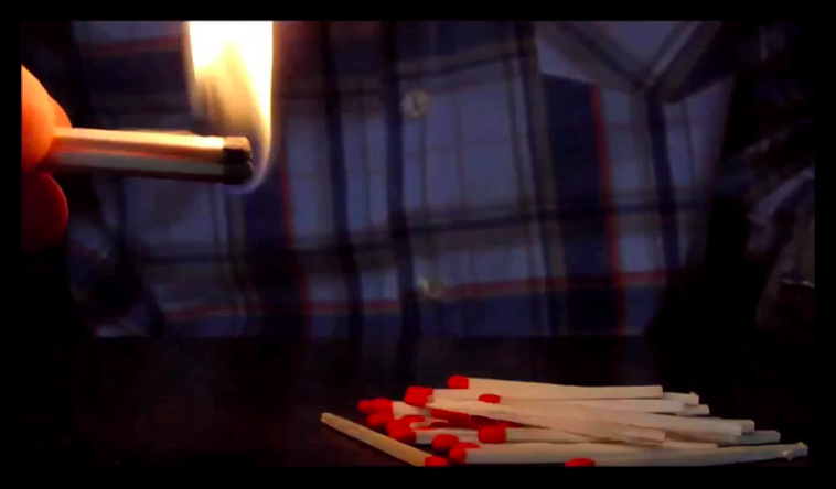 One of the videos found in the YouTube Kids app shows how to light a pile of matches on fire.