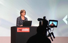 Kleiner Perkins partner Mary Meeker at the Code Conference.