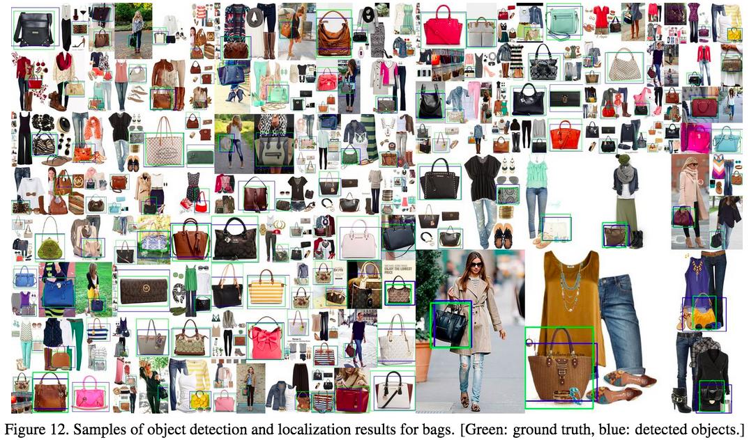 Pinterest makes quick work of bag detection.