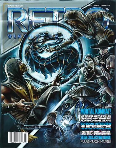 Retro Magazine's 7th issue.