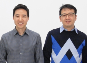 Awair founders Ronald Ro and Kevin Cho.