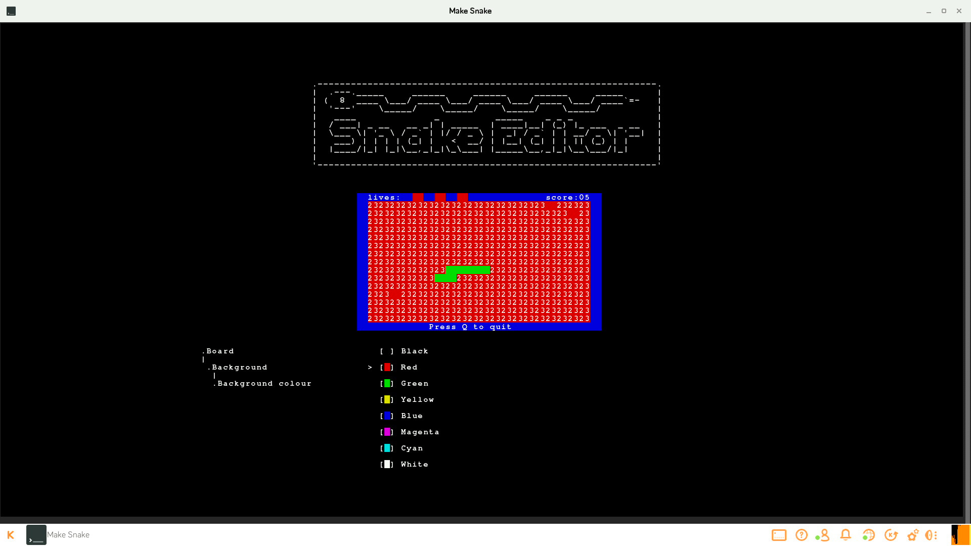 Snake lets kids use the Python programming language in a supported way.