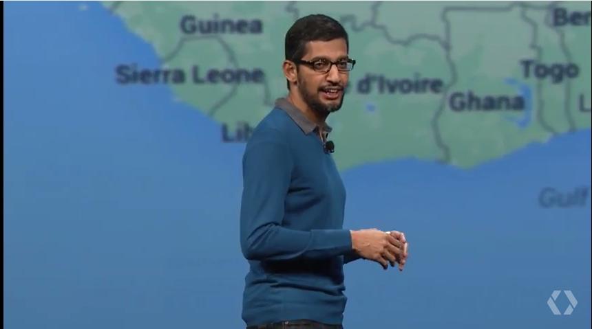 Google's Sundar Pichai.