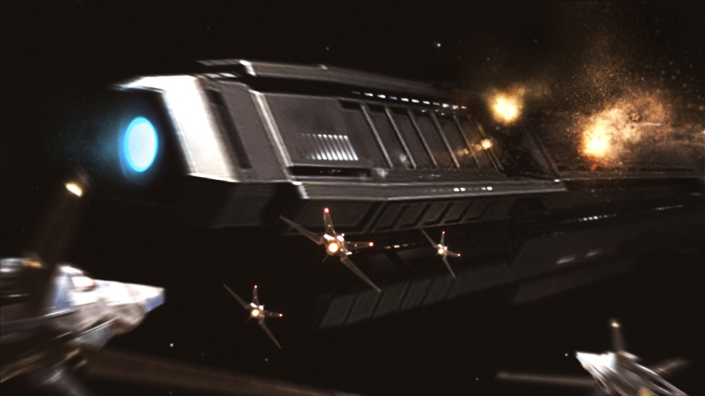 That cruiser's toast.