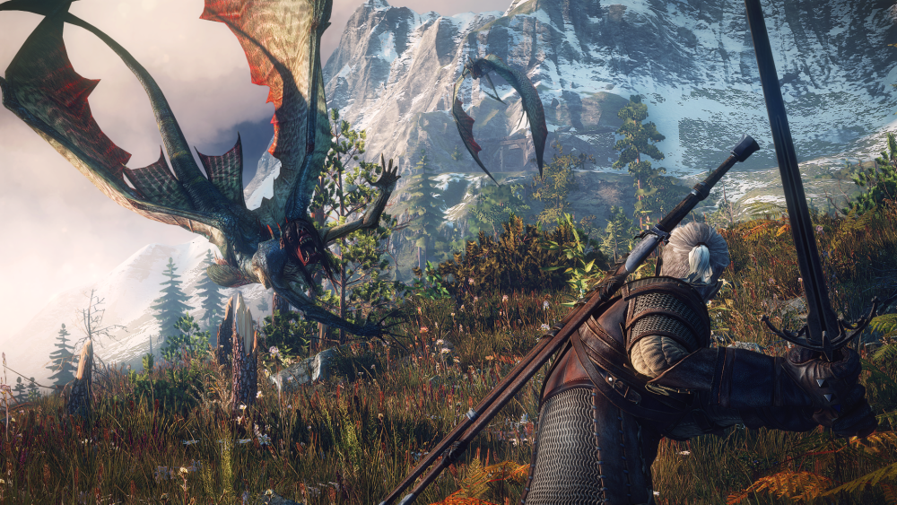 Ugliness is made beautiful in The Witcher 3.