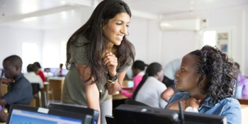 Mentorships aim at stopping the declining numbers of women in tech jobs