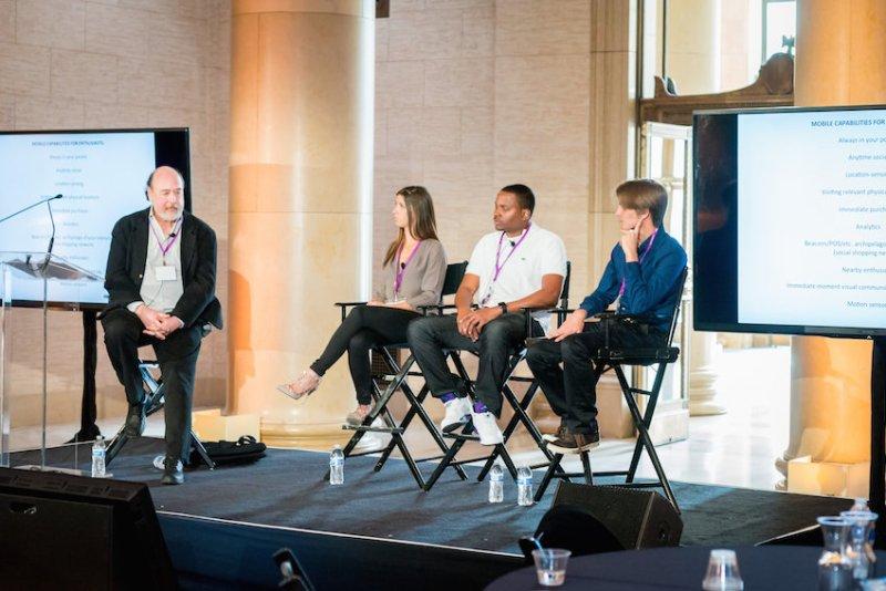 The TEC Summit panel (l to r): Barry Levine, Bridget Silvi, Lawrence Jones, Jesse Leimgruber