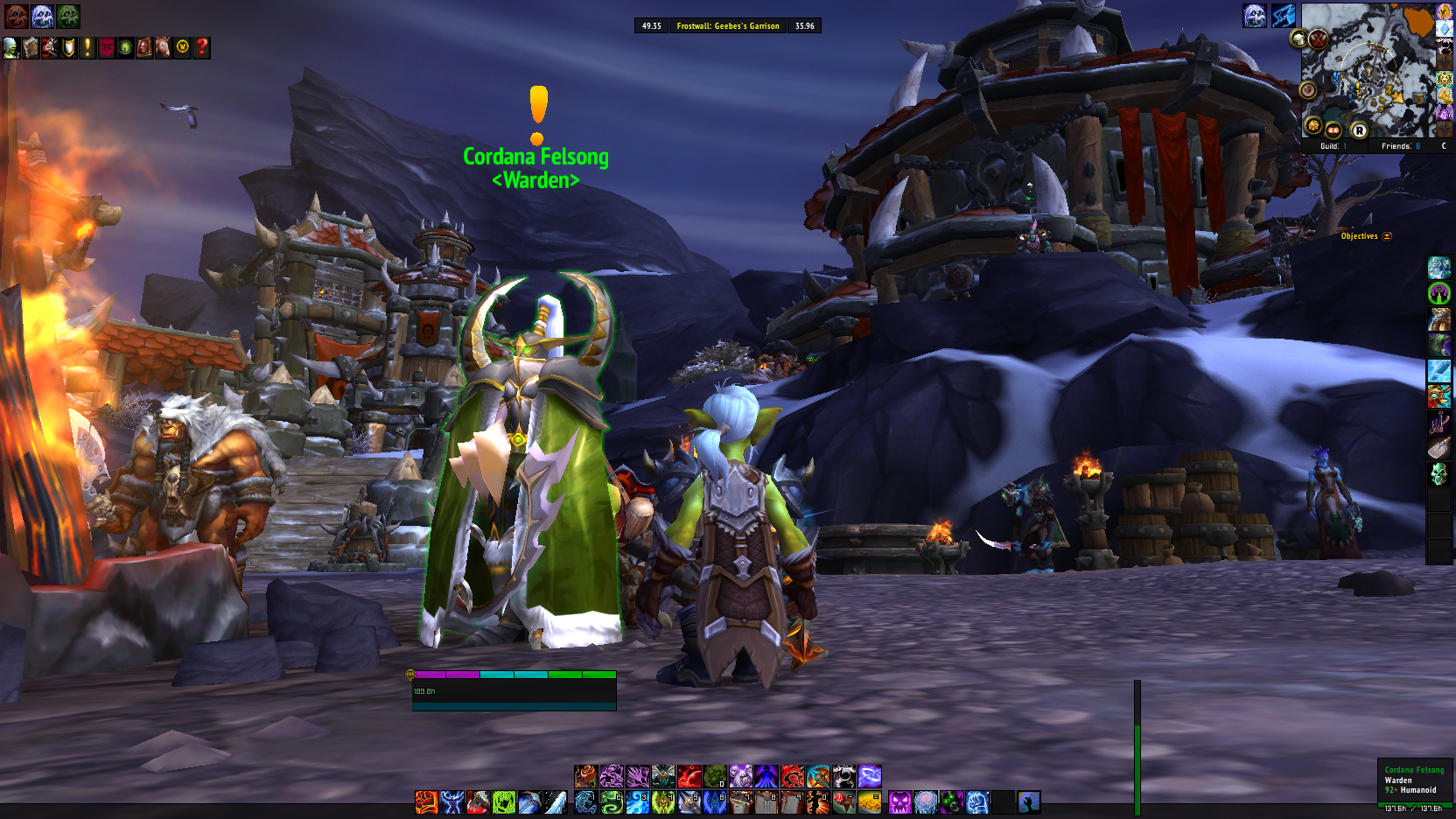 World of Warcraft questgiver