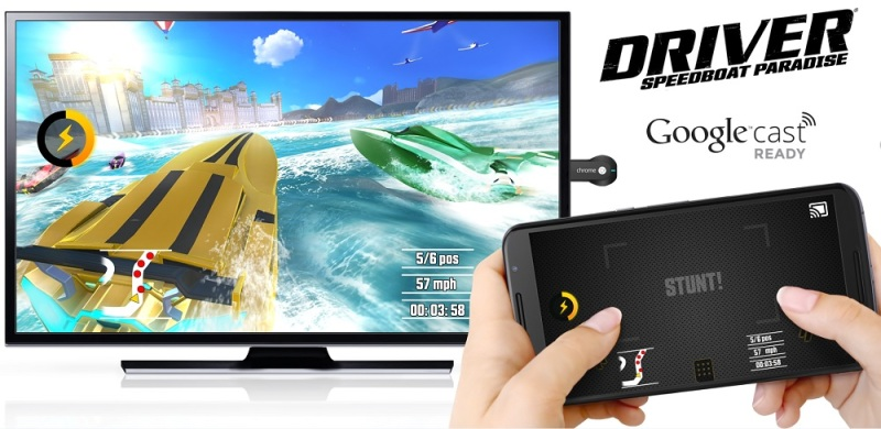 Chromecast lets you use your Android phone as a controller for games on your TV.