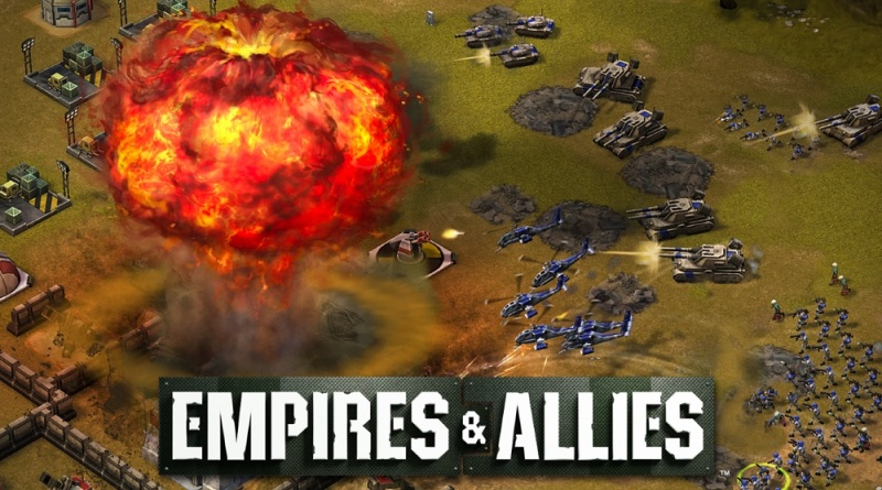 A tactical nuke in Empires & Allies.