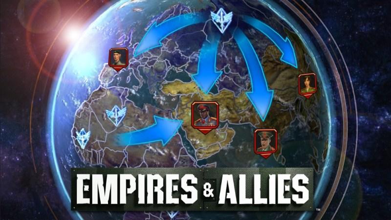 Empires & Allies globe map