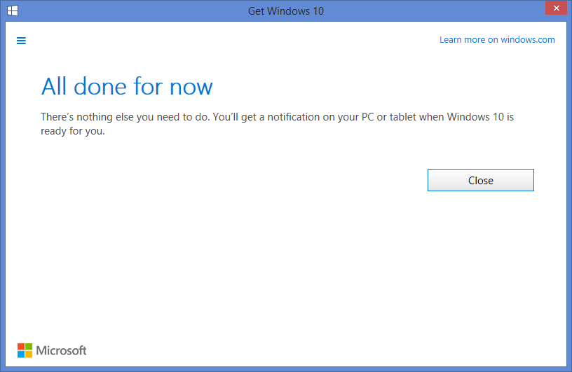 reserving your windows 10 for july 29th release date windows 7 8