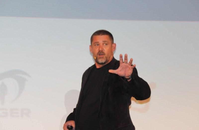 Glen Schofield, cofounder of Sledgehammer Games, maker of Call of Duty: Advanced Warfare.