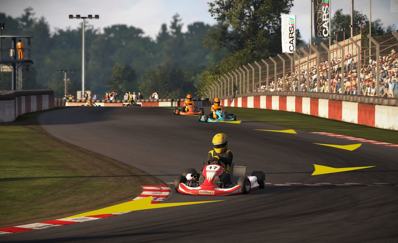 Project Cars Is A Beautiful Racing Sim With AI That Drives Like