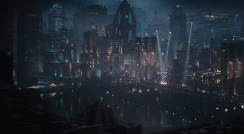 Gotham City in Batman: Arkham Knight.