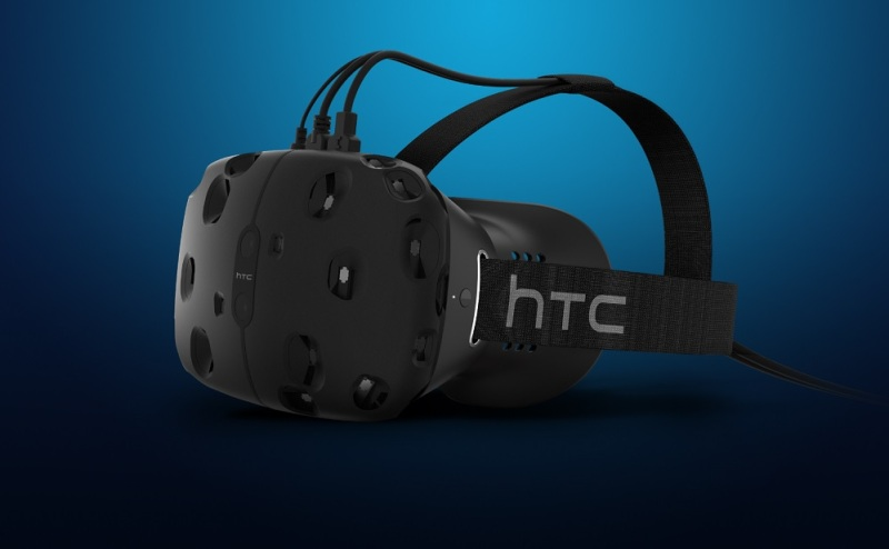 HTC Vive virtual reality headset uses SteamVR