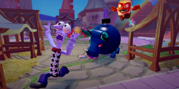 Pixar's Inside Out brings cooperative puzzle-platforming to Disney Infinity
