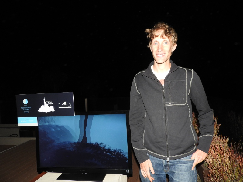 Ian Dallas of Giant Sparrow, showing off What Remains of Edith Finch.