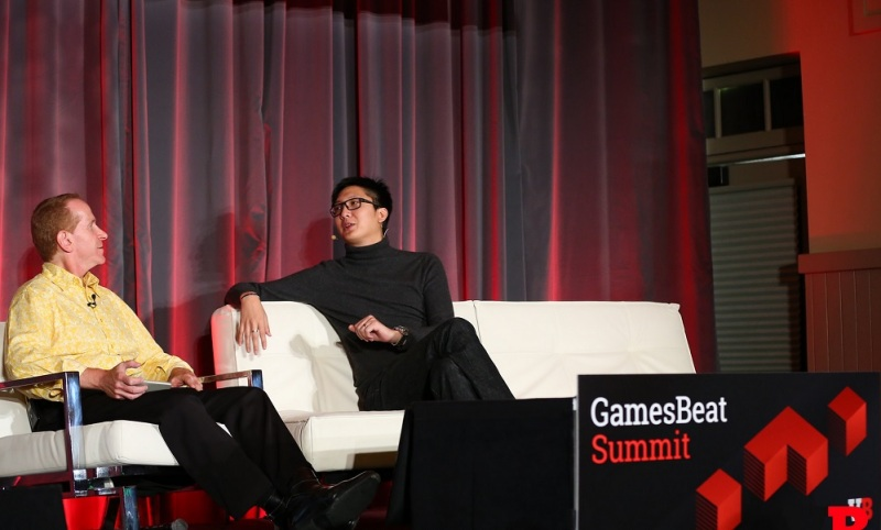 Tim Merel of Digi-Capital and Jeff Lyndon of iDreamsky at GamesBeat Summit.