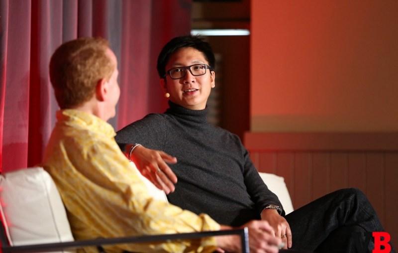 Tim Merel of Digi-Capital and Jeff Lyndon (right) of iDreamsky at GamesBeat Summit.