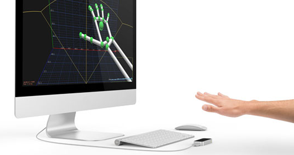 Leap Motion hand scanner