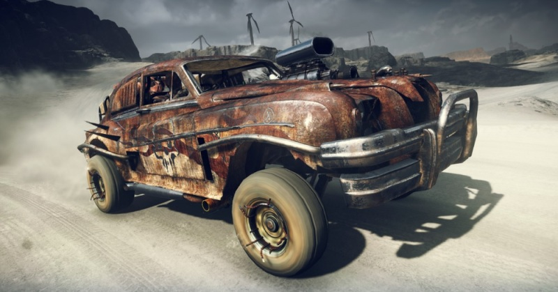 Mad Max lets you soup up your desert ride.