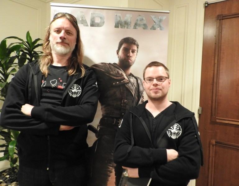 Magnus Nedfors, design director at Avalanche Studios, and Martin Berquist, art director, on Mad Max.