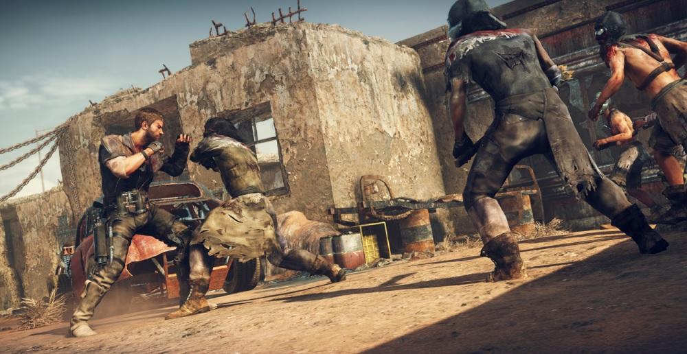 Mad Max: Savage Road hand-to-hand combat.