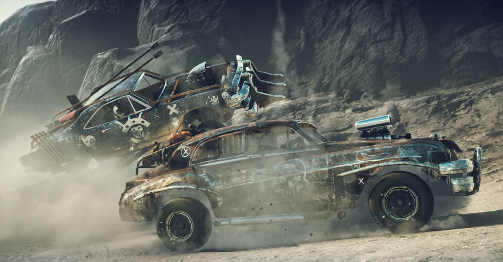 Mad Max: Savage Road high-speed combat.