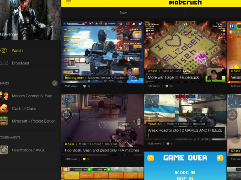 Mobcrush is creating a mobile gameplay livestreaming community.