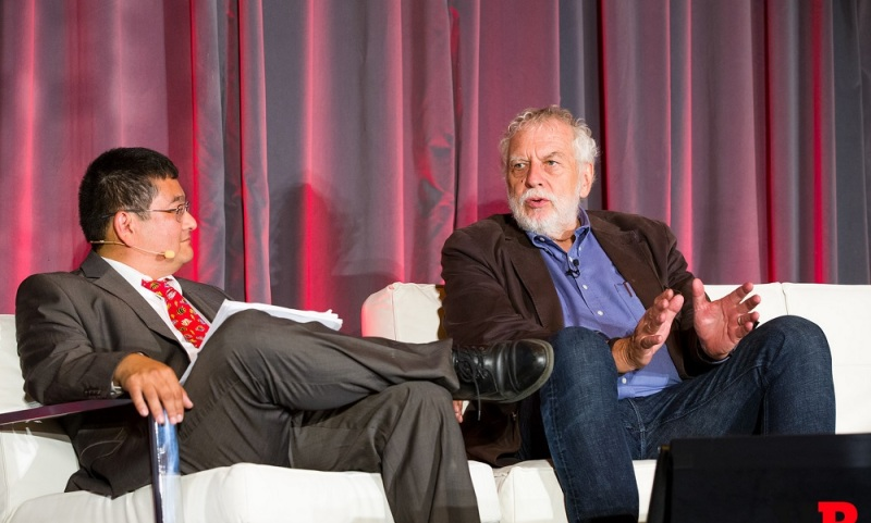 Nolan Bushnell, founder of Atari, at GamesBeat Summit.